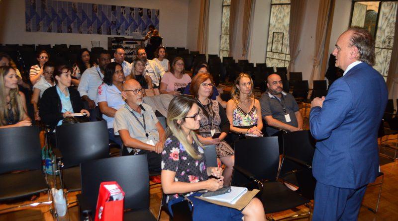 Diretores dos Centros de Integração da Cidadania fazem reunião de trabalho