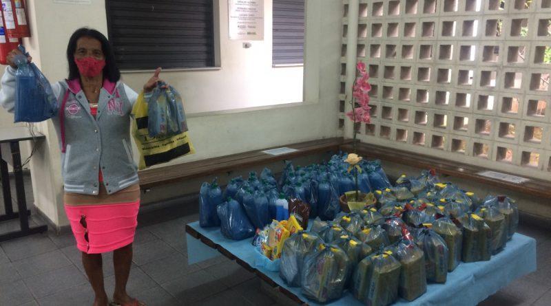 CIC Sul distribui guloseimas e produtos de limpeza e higiene pessoal para mais de 280 famílias