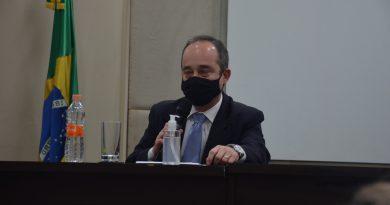Secretário Executivo da Justiça participa de posse de Juiz Enio Rossetto no Tribunal de Justiça Militar
